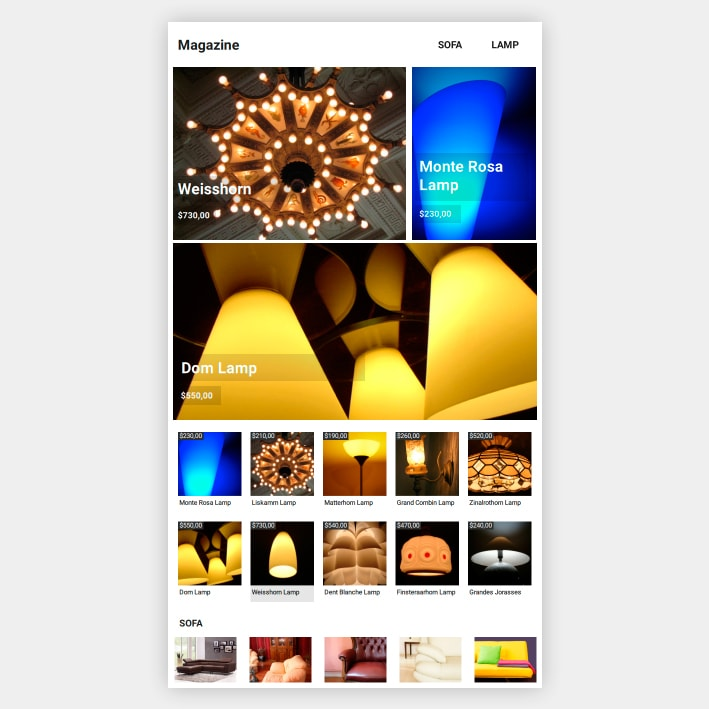 Catalog App