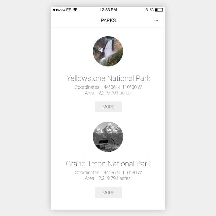 Parks App
